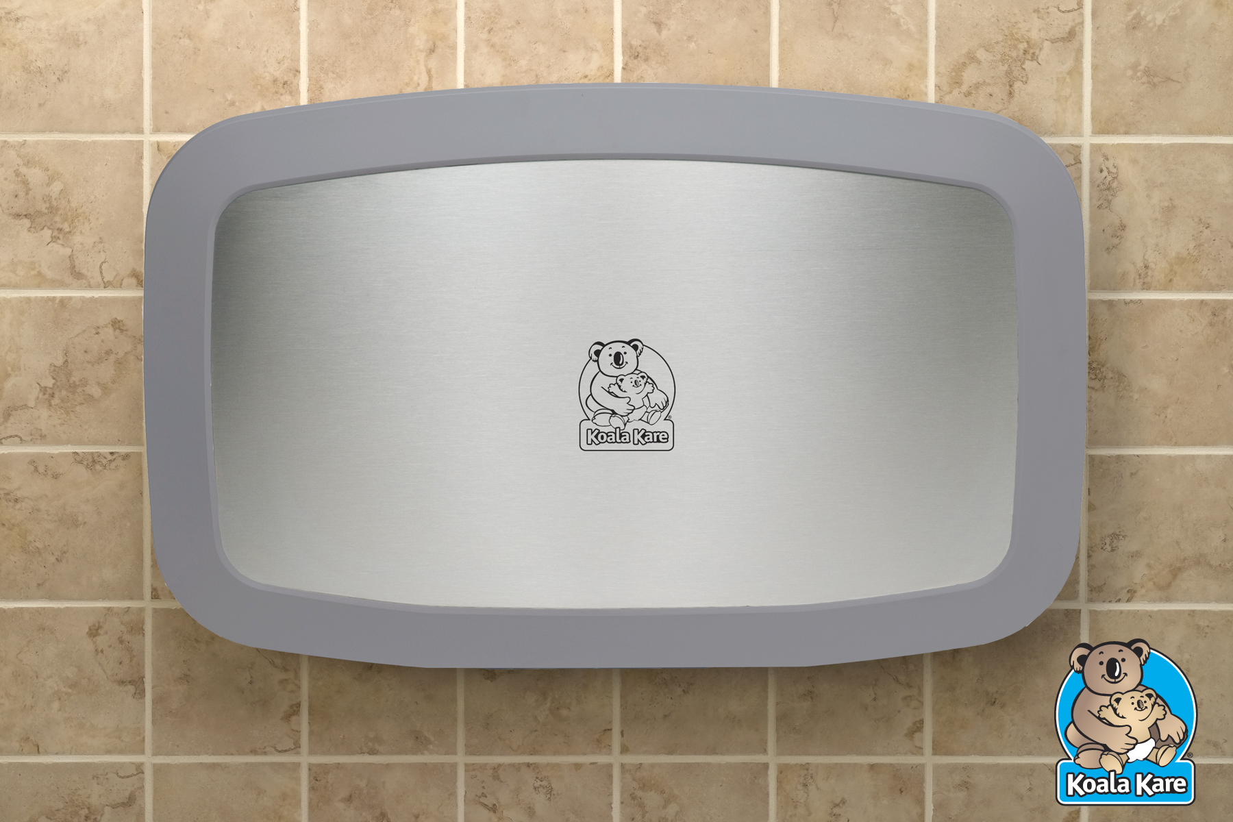 Koala Baby Changing Station KB - Commercial bathroom baby changing table